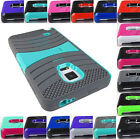 FOR SAMSUNG GALAXY NOTE EDGE EXO STRETCH HEAVY DUTY HYBRID CASE COVER+STYLUS/PEN