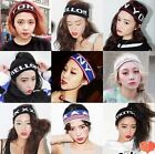 Girls Headband Sport Cool Knitted Personalized Letter Zipper Style Hairband-CB