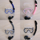 Swimming Goggles Mask Snorkel Set Holiday Swim Diving Snorkeling Scuba Dive New