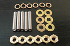 M10 x50 Stainless Steel Inlet Exhaust Manifold Studs & Brass Nuts Rover Vauxhall