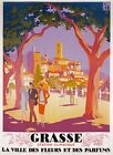 TX358 Vintage Grasse France French Travel Poster Broders Re-Print A3/A4