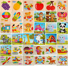 Wooden Puzzle Educational Developmental Baby Kids Training Toy Gift