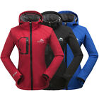 NEW Women Good Waterproof Breathable Soft Shell Jacket Hiking Outdoor Jacket