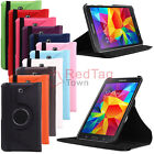 Smart Rotating PU Leather Case Cover For Samsung Galaxy Tab 4 7.0 8.0 10.0 T530