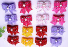 Pet Dog Hair Bows Bowknot Tails Dog Grooming Dog Hair Accessories