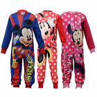 Kids Jumpsuit Boys Mickey Mouse Onesie Cartoon Disney All In One Casual