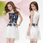 Ever Pretty Stylish Short Printed Cocktail Summer Casual Ladies New Dress 05107