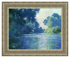 Branch of the Seine Near Giverny by Claude Monet Painting Repro Framed Art Print