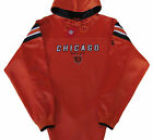 Chicago Bears NFL Long Pass Team Colors Hoodie Jersey-Adult XL-NWT