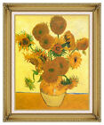 Still Life Vase with Fourteen Sunflowers Vincent van Gogh Repro Framed Art Print