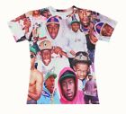 Tyler the Creator Paparazzi 3D Fun T-shirt #WD120