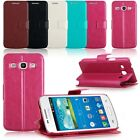 Luxury Stand Flip Wallet PU Leather Cover Case fr Samsung Galaxy Core Plus G3500