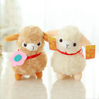 Alpaca Sheep Plush Toy Cream Arpakasso Llama Doll Stuffed Animal Kid Gift US LA1