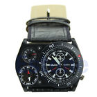 Men's Military Army Sports Quartz Wrist Watch With Compass Thermometer Dial