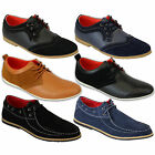 Mens Leather Shoes Marc Darcy Suede Brogue Smart Formal Wedding Lace Up Casual