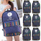 EXO BTS Good Boy Got7 Winner VIXX Cavas Schoolbag National Bag Backpack Satchel