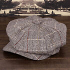 Vintage Cabbie Newsboy Cap Mens Ivy Hat Golf Driving Winter Cold Flat hot gift