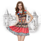 Ever Pretty Daily Homecoming Hot Short Fashion Printed Cocktail Dresses 05203
