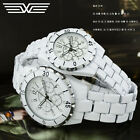 Fashion Classic Imitation Ceramics Mens Womens Quartz Couples Lovers Wrist Watch