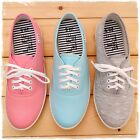 BN Womens Comfort Casual Walking Canvas Flats Shoes Loafers Sneakers Oxfords