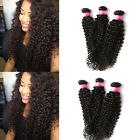 "3 Bundles 6A WIGISS 10""-30"" Curly Wave Hair 100g MALAYSIAN Virgin Human Hair"