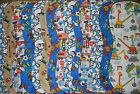 handmade burp cloth boys double flannel group 1b