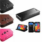 Leather Wallet Flip Folio Pouch Hard Case Cover For Samsung GALAXY AVANT G386T