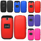 For LG True B460 450 B450 MS450 Rubberized Hard Matte Case Snap On Cover Phone