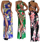 Ladies Maxi Dress Womens Long Evening Party Summer Prom BoHo Gown Size 10 12 14