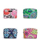 NWT Authentic Vera Bradley Large Puffy Cosmetic