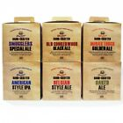 Muntons Hand Crafted Home Brew Beer Kits, American IPA, Belgian Ale, Oaked Ale
