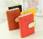 NEW Women ID Credit Card Wallet Cash Holder Case Bag Pocket Pouch for 20 cards G