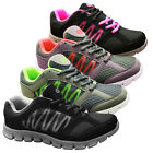 New Dek Athletic Mens Girls Womens Running Trainers Gym Casual Shoes Black Pink