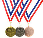 50mm Metal Athletics Star Medal-Gold,Silver or Bronze-FREE POSTAGE-FREE ENGRAVIN