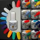 15ml Charm Colour Gel polish Nail Art Soak Off UV LED Gel Polish + Base Top Coat