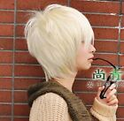 Fashion Short Blonde Cosplay party WigHair Wigs New