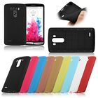 Soft TPU Gel Rubber Back Case Cover Skin Protective For LG G3 D850 D855 LS990