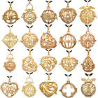 1/10pcs Wholesale Gold Locket Pendant for 16/18/20mm  Harmony Ball Mexican Bola