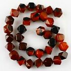 K59565-2 10mm Faceted dream agate loose beads 33pcs