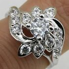 Size 5 6 7 8 9 10 Gallant Hot White CZ Jewelry Gold Filled Women Gift Ring R2011