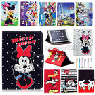 Universal Cartoon Mickey Minnie Leather Case Cover For 9~10.1 Inch Tablet PC