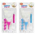 """""""We Can Cook"""" Children's Icing Set with 4 Nozzles Cake Decorating by Royle Kids"""