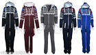 Mens Stylish All in One Aztec Print Jumpsuit Pyjamas Suit Onesie One Piece