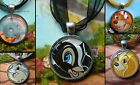 DISNEY ANIMALS ALIENS MONSTERS ROUND NECKLACE SIMBA EEYORE TRAMP DUMBO THUMPER