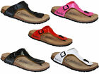 WOMENS BIRKENSTOCK BETULA ROSE TOE POST CLASSIC FOOTBED SANDALS SHOES SIZE 3 – 8