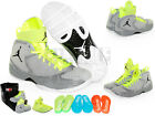 NIKE AIR JORDAN 2012 Basketball Shoes NEW - 484654 001 - GREY / BLACK $225 VALUE