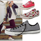 CONVERSE  ALL STARS OX LO  LADIES WOMENS GIRLS JUNIORS CHUCK TAYLORS ALL SIZE