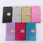 Flip Leather Wallet Case Cover Holder for Samsung Galaxy S Duos GT-S7562 Gayly