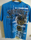 SouthPole Embroidery Sewn Logo Short Sleeve Neon Blue T-Shirt  NWT's