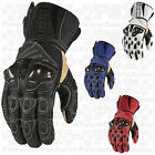 Icon Overlord Long Motorcycle Gloves Non Current